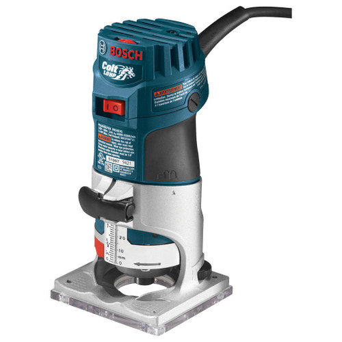 Bosch Colt Variable Speed Electronic Palm Router Kit 1 HP