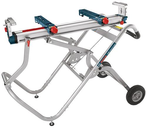 Bosch Gravity-Rise Wheeled Miter Saw Stand