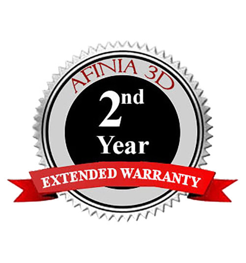 Afinia H400 Plus 3D Printer 2nd Year Extended Warranty