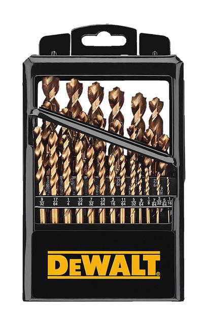 DeWalt 29-Piece Industrial Cobalt Drill Bit Set