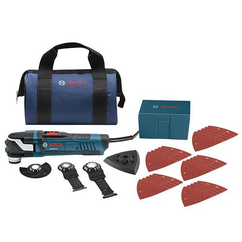 Bosch StarlockPlus Oscillating Multi-Tool Kit
