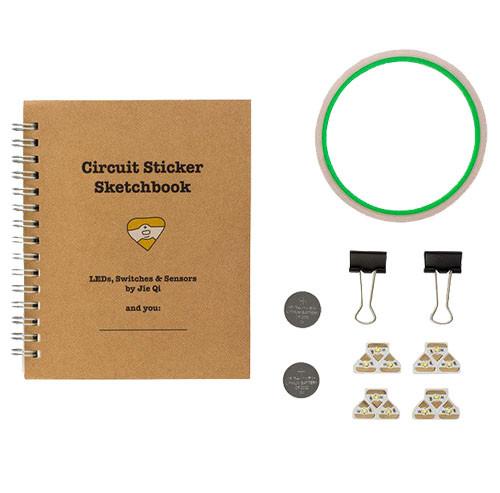 Chibitronics Chibi Lights LED Circuit Stickers STEM Starter Kit