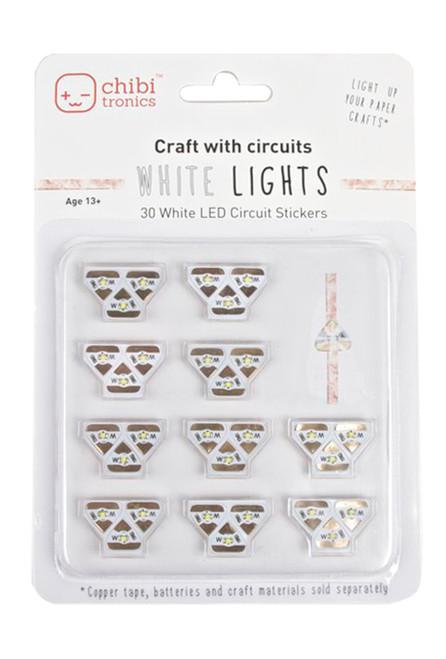 Chibitronics White LEDs Mega Pack