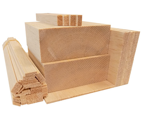 Bud Nosen Balsa Wood Variety Pack