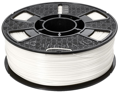 Afinia ABS Plus Premium Filament, 1.75mm 2.2 lb. Spool, White