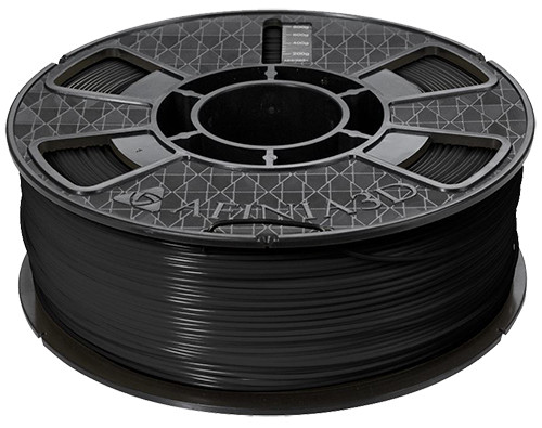 Afinia ABS Plus Premium Filament, 1.75mm 2.2 lb. Spool, Black