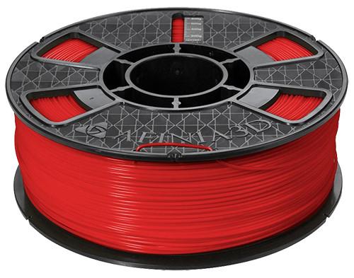 Afinia ABS Plus Premium Filament, 1.75mm 2.2 lb. Spool, Red