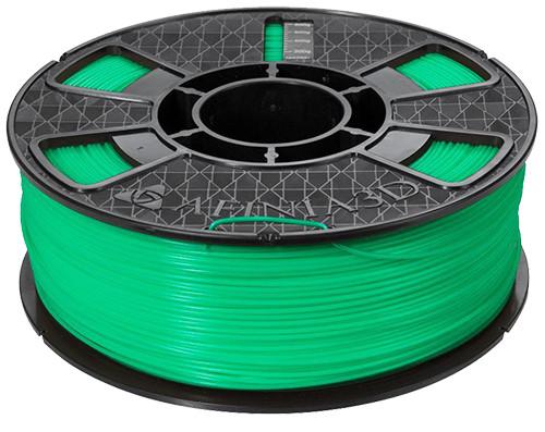 Afinia ABS Plus Premium Filament, 1.75mm 2.2 lb. Spool, Green
