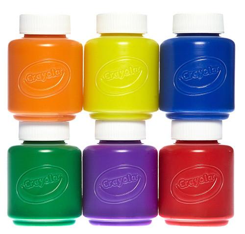Crayola Washable Paint Set, 6-Piece