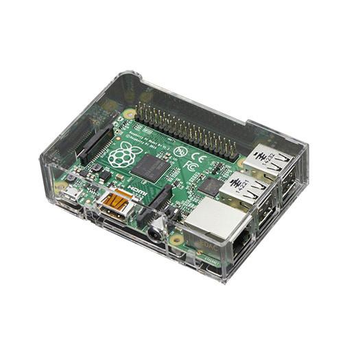 Adafruit Pi Model B+ / Pi 2 / Pi 3 Case Base, Clear