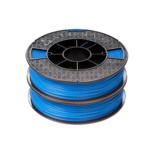 Afinia ABS Premium Filament 1.75mm, 1.1 lb. Spool, 2-Pack, Blue