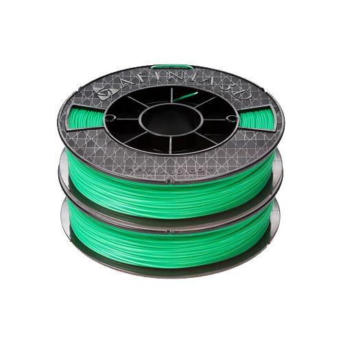 Afinia ABS Premium Filament 1.75mm, 1.1 lb. Spool, 2-Pack, Green