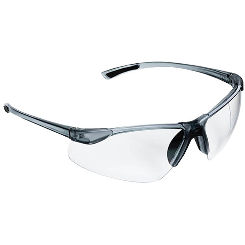 Sellstrom XM340 Advantages Plus Safety Glasses, Smoke Frame Clear Lens