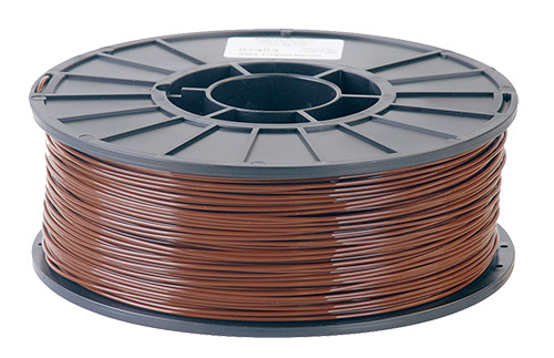 Toner ABS Filament, 1.75mm 2.2 lb. Spool, Brown