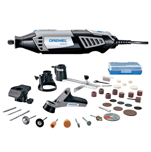 Dremel 4000-2/30 High Performance Rotary Tool Kit, 34-Piece