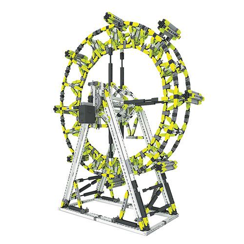 Engino STEM Amusement Park Set London Eye & Ferris Wheel