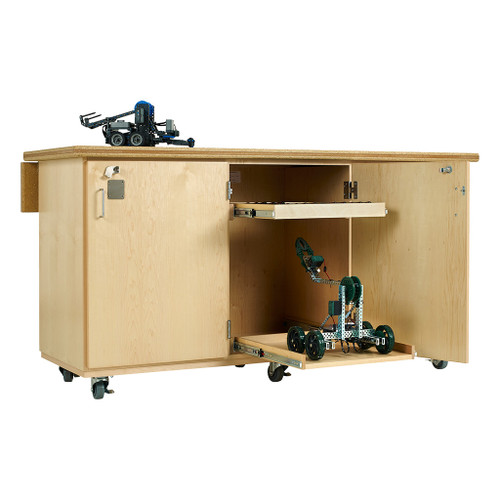 Diversified Woodcrafts Mobile Robotic Work Bench