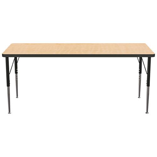 "MooreCo Adjustable Leg Activity Table, 60"" x 24"""