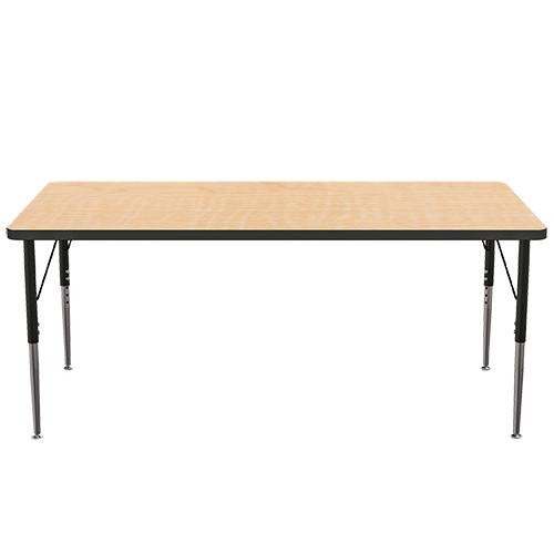 "MooreCo Adjustable Leg Activity Table, 60"" x 30"""