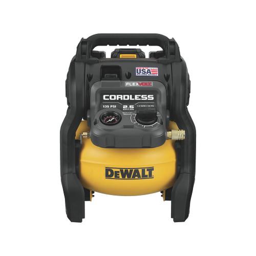DeWalt Flexvolt 60V Max 2.5 Gallon Cordless Air Compressor