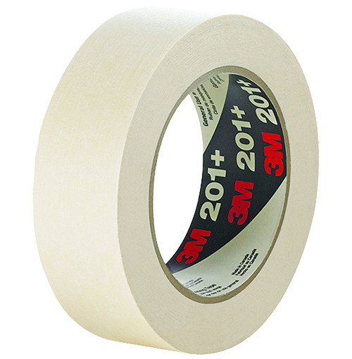 "3M General Use Masking Tape 201+, 1/2"" x 60 Yd."