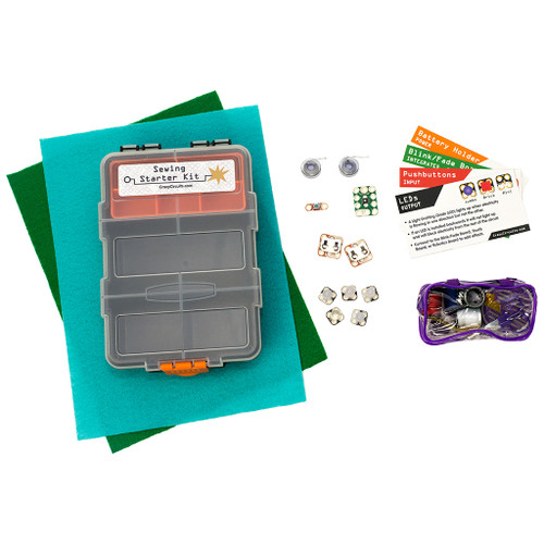Brown Dog Gadgets Crazy Circuits Sewing Starter Kit