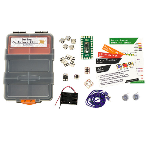 Brown Dog Gadgets Crazy Circuits Sewing Deluxe Kit