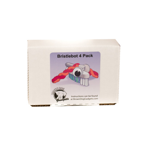 Brown Dog Gadgets Bristlebot Kit, 4 Pack