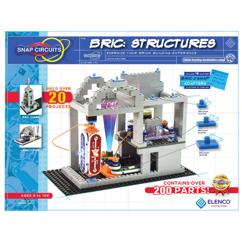 """Elenco Snap Circuits /""""Basic Electricity Principles/"""" SCP-10  Ages 8+"""