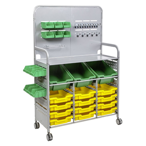 Gratnells Makerspace Mobile Cart with Trays