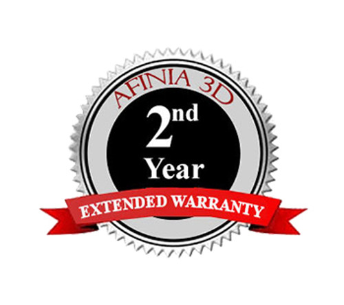 Afinia H+1 3D Printer 2nd Year Extended Warranty