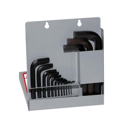 Eklind L-Hex Key Set Fractional Cased 15-Piece