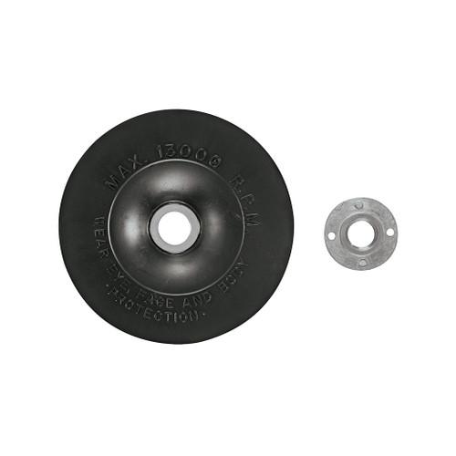 "Bosch Rubber Backing Pad w/Nut, 5"""