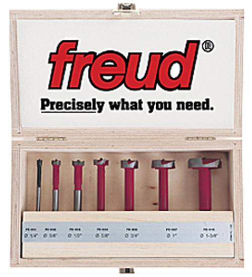 Freud Carbide Forstner Bits 7-Piece Set