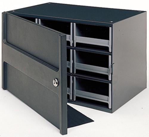 Akro-Mils Steel Parts Cabinet Heavy-duty Locking  9 Drawers