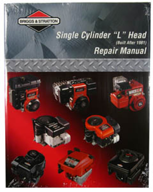 Briggs & Stratton Small Engine Books, 'L' Head Repair