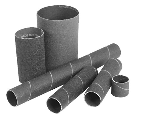 "Clesco Sanding Sleeve 2"" dia. x 5-1/2""L, 80 grit"