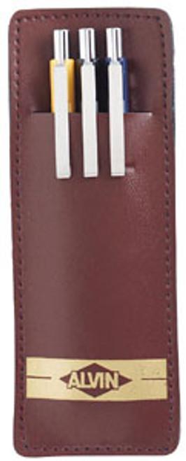 Alvin Draft-Line Mechanical Pencils 3-Piece Set, 0.5, 0.7, 0.9 mm