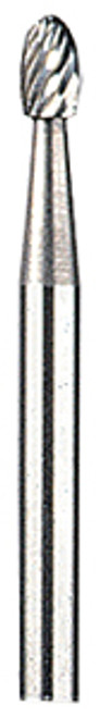 "Dremel Tungsten Carbide Cutters, 1/8"" dia., Ball nose, 9906"