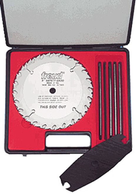 Freud Carbide-tipped Safety Dado Sets, 6""