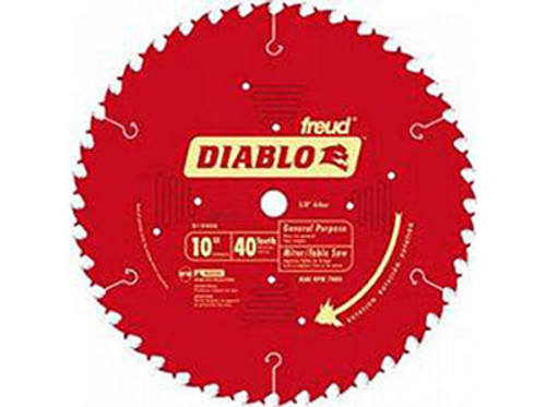 "Freud Diablo 10"" CT General Purpose Saw Blade"