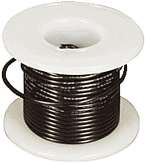 Elenco 24 Ga. Stranded Hook-up Wire, Black