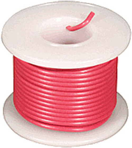 Elenco 24 Ga. Stranded Hook-up Wire, Red