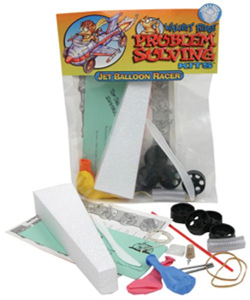 ABS Jet Balloon Racer, 1 Kit