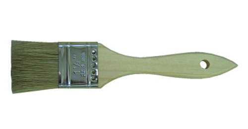 "Linzer White China Bristle Brushes, 3"""