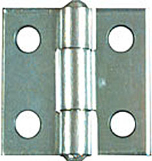 """Narrow Butt Hinges Non-removable Pin, 1-1/2"""""""