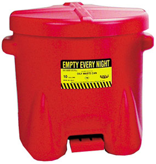 Eagle Oily Waste Can, 10 gal.
