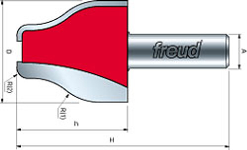 Freud Vertical Raised Panel Bit