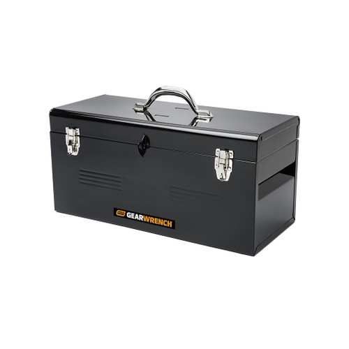 """GrearWrench 20"""" Black Steel Tool Box"""