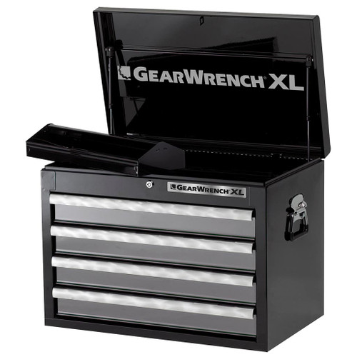 GearWrench 4 Drawer XL Series Black & Silver Top Tool Chest